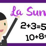 La suma de números naturales | El aula de blanca  | Aprender matemáticas