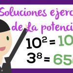 Solución ejercicio de las potencias | El aula de blanca | Aprender matemáticas
